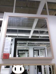 IKEA 洗面台 鏡 ミラー ショールーム