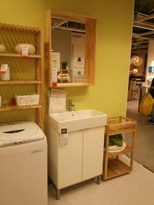 IKEA 洗面台 ショールーム
