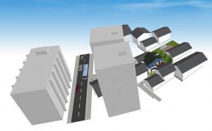 マイホームデザイナー新築作り方俯瞰図鳥瞰図