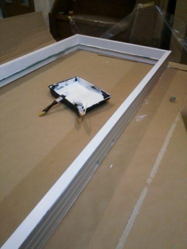 メソナイト スムースファイバーグラスドアペイントDIY塗り方