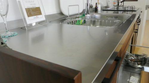 キッチンステンレスヘアライン