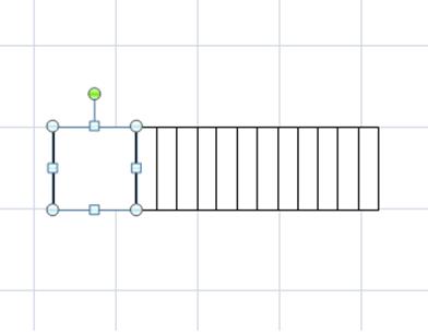Excel間取り図形の作り方ドアの作り方階段