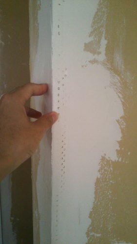 塗り壁DIYパテ塗り欠陥