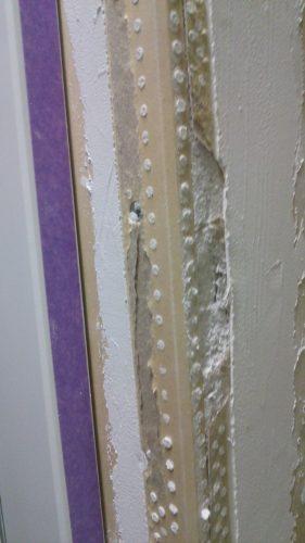 塗り壁DIY下地失敗