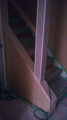 ひとりで塗れるもんDIY階段下地