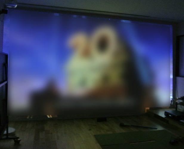 5.1chホームシアター5.1ch BENQ 試写会