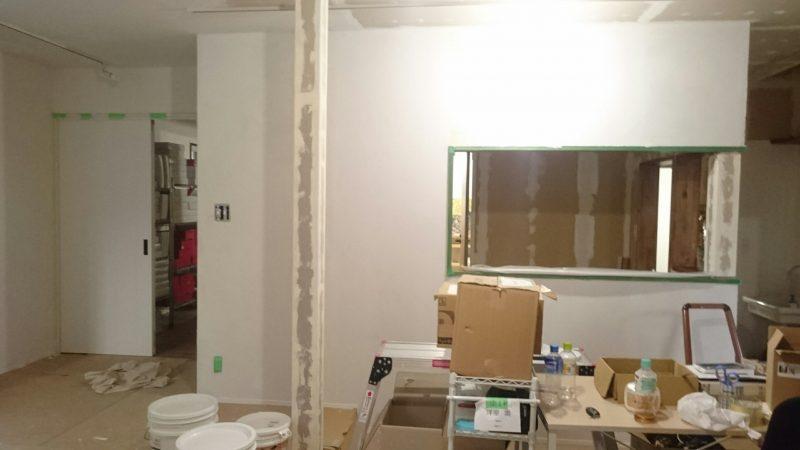ひとりで塗れるもんDIY 壁塗り完成
