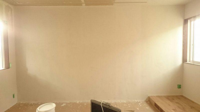 ホームシアター塗り壁DIYひとりで塗れるもん