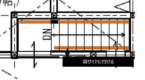 安全な階段設計手すり編 両方に付けるイメージ図