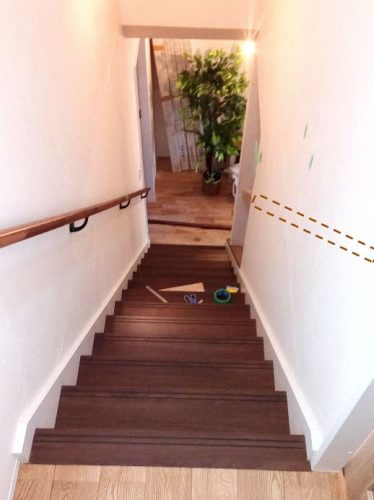 カワジュン ブラケット(壁付用) KH-631 取付位置 DIYレビュー