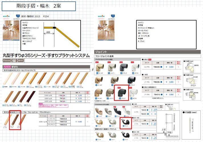 安全な階段設計注文住宅商品選定イメージ図