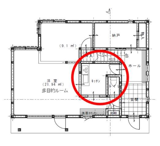 アドヴァンアパルタメタリスリム設計図