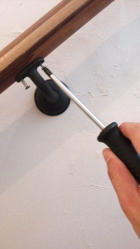 カワジュン ブラケット(壁付用) KH-631 取付方法 DIY ネジ