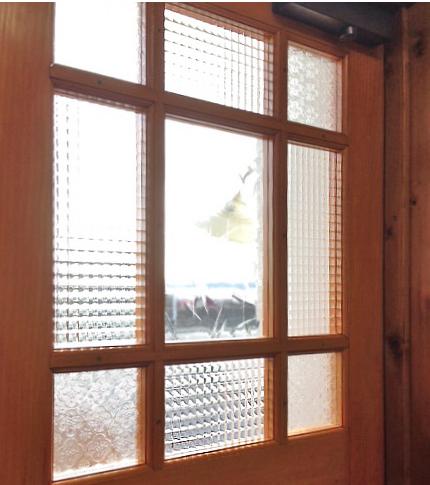 造作窓ガラス通販チェッカーガラス