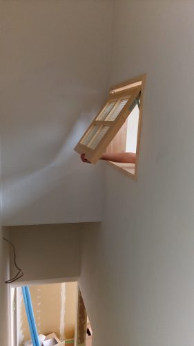 室内窓階段完成イメージ