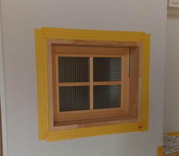 造作窓完成!