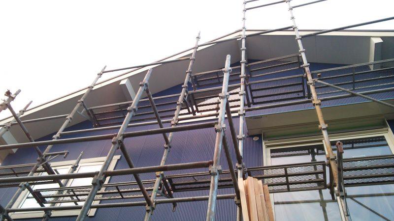ニチハ ST型 センターストライプU プレミアム 施工イメージ