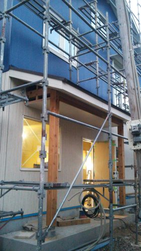 新築 ニチハ 外壁 完成