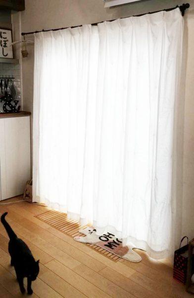 安くておしゃれな機能的ダブルレースカーテン