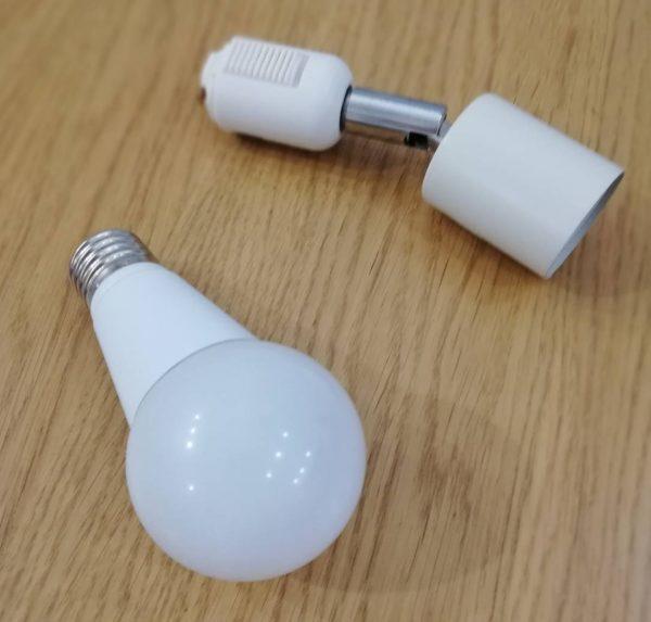 調光可能LED電球 ビームテック LB18269W2C-B-WIFI