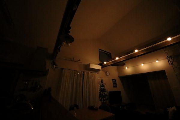 調光LED電球明るさレビュー電球色