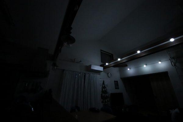 調光LED電球明るさレビュー昼光色