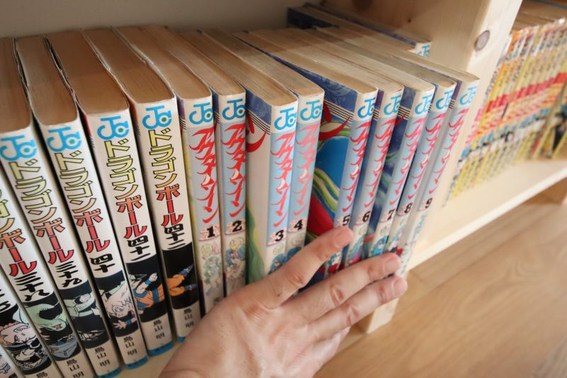 本棚DIYきれいに整理して本は並べる