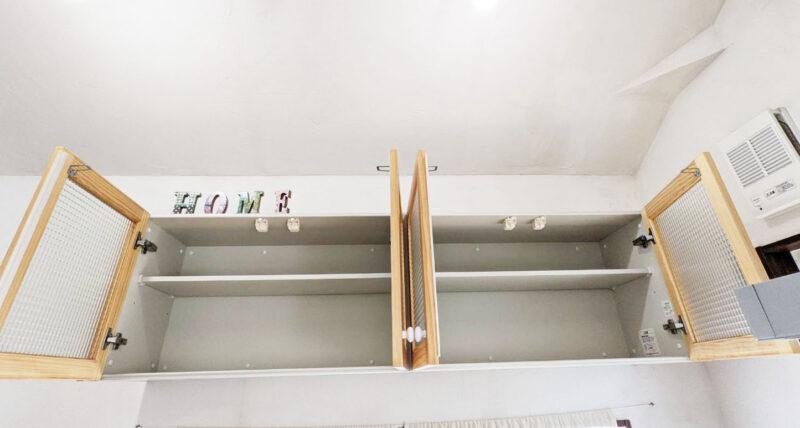 ウッドワンsu:ijiのウォールキャビネット(吊戸棚)収納力 レビュー