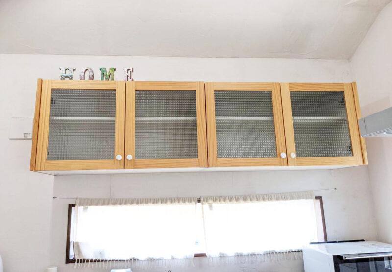 ウッドワンsu:ijiのウォールキャビネット(吊戸棚)レビュー