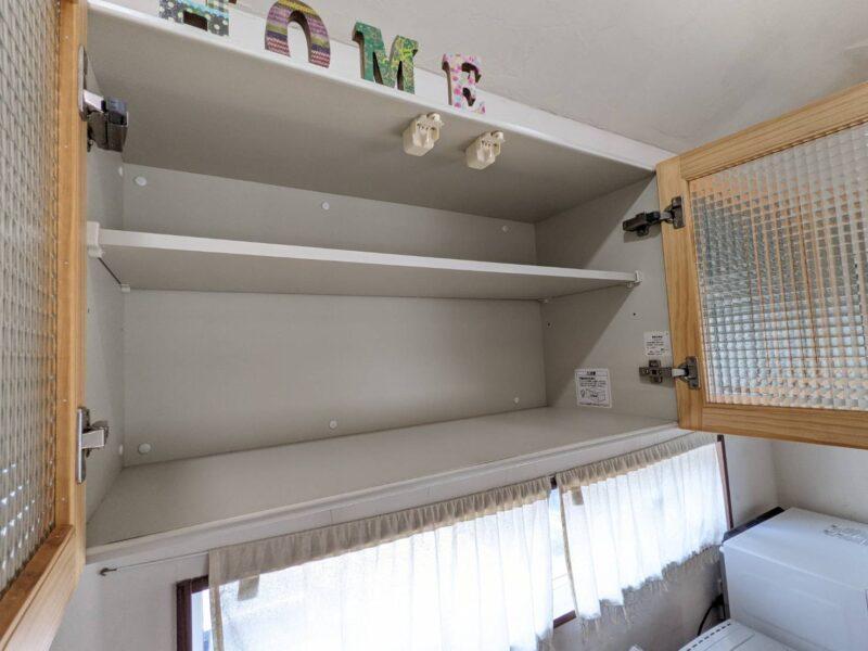 ウッドワンsu:ijiのウォールキャビネット(吊戸棚)収納力レビュー